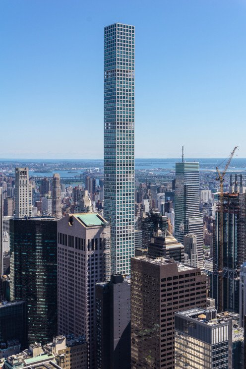 The slender splendour of 432 Park Avenue