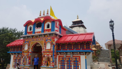 A wonderful replica of another (Badrinath) Dham