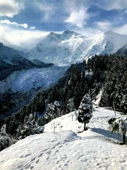 The Last Scene of the Nanga Parbat (The Killer Mountain)