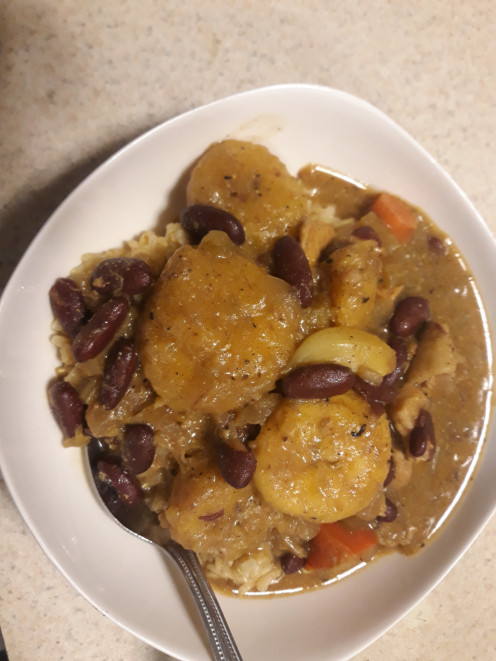 Pork and Plantain Stew