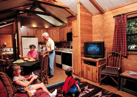 Cabins (inside)