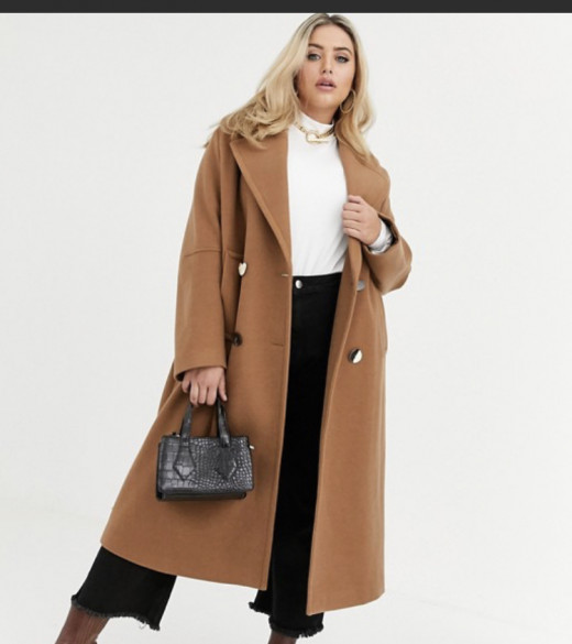 ASOS designed long coat