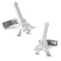 Eiffel Tower Cufflinks - A Perfect Reminder of Paris