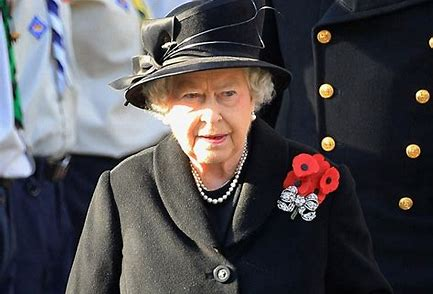 Her Majesty Queen Elizabeth 11 on Remembrance Sunday