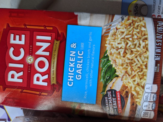 Rice a Roni - this is the flavor I have.