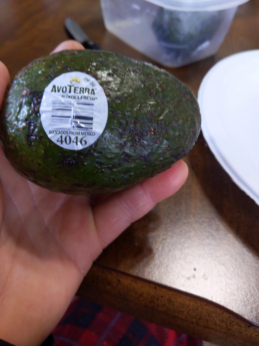 Avocado from store