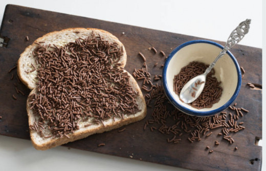 Hagelslag: also known as chocolate on toast