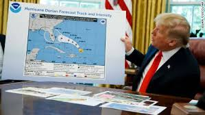 Remember this? Trump altering the NOAA hurricane path to fit his own lie.