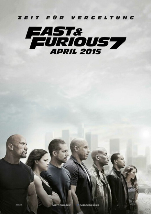 Fast & Furious 7 Poster