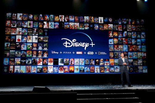 Disney+ panel at the 2019 D23 Convention