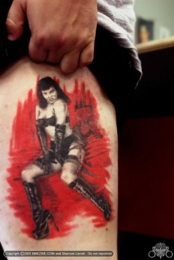 Betty Page Tattoos