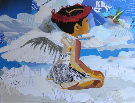 Darling Angel 3 Collage