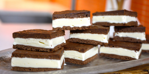 In 2014, ice cream sandwiches were a popular food trend we're still loving.