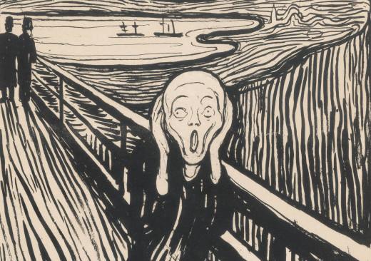 """The Scream"" by Edvard Munch"