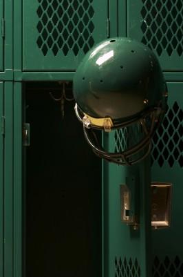 Many men get athlete's foot in the locker room!