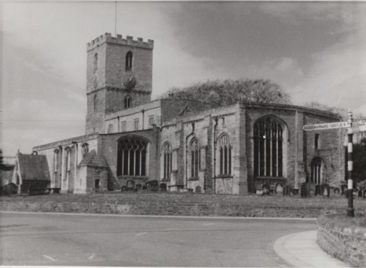 The church of St Mary, Staindrop, where Catholic mass would be led by Thomas Plumtree in mid-November, 1559