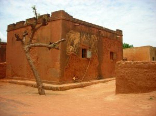 A home in Timbuktu Mali