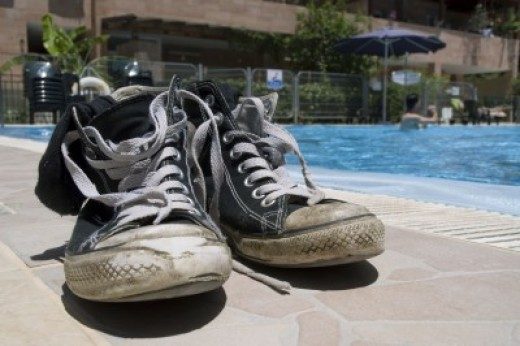 Avoid athlete's foot by drying out your shoes1