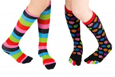Always wear fresh, clean socks and change them often!