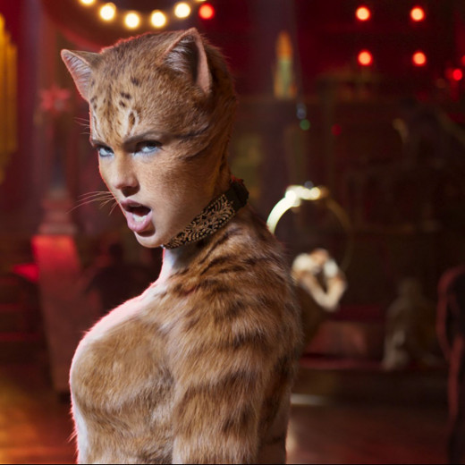Taylor Swift stars as Bombalurina in the upcoming adaptation of 'Cats'