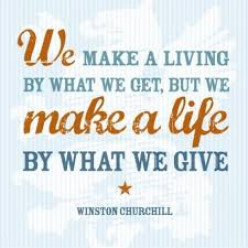 Celebrating Life #5 : Share What You Have