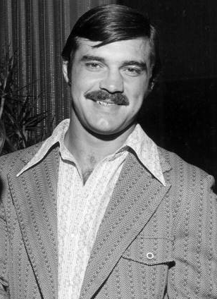 Miami Dolphins Hall of Fame running back, Larry Csonka, is pictured in 1972, when he helped his team the only undefeated season in NFL history.