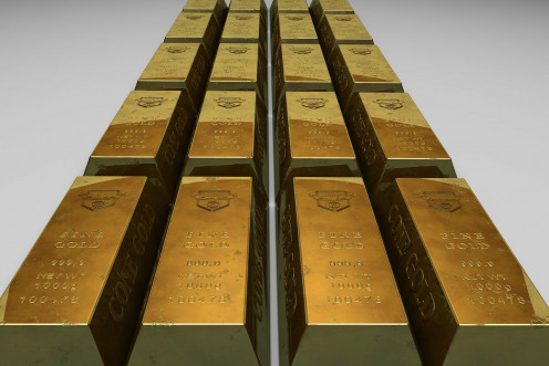 These gold blocks represent the blocks of gold that are present in this episode.