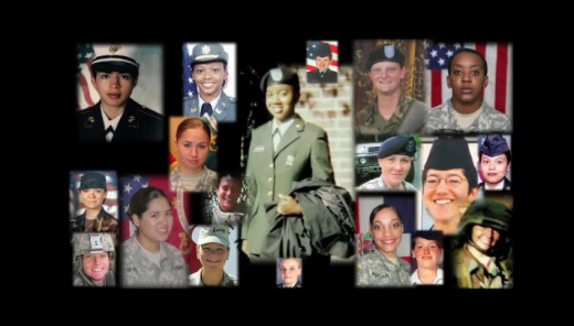 Female veterans that were abused or killed while in the military