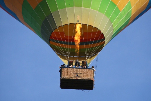A magical hot air balloon ride becomes a nightmare death-trap.