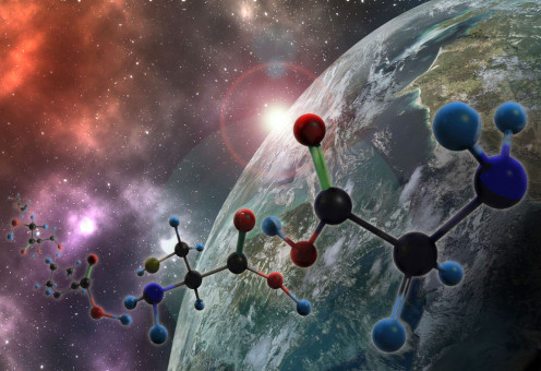 Astrochemistry: Spectroscopy in Space