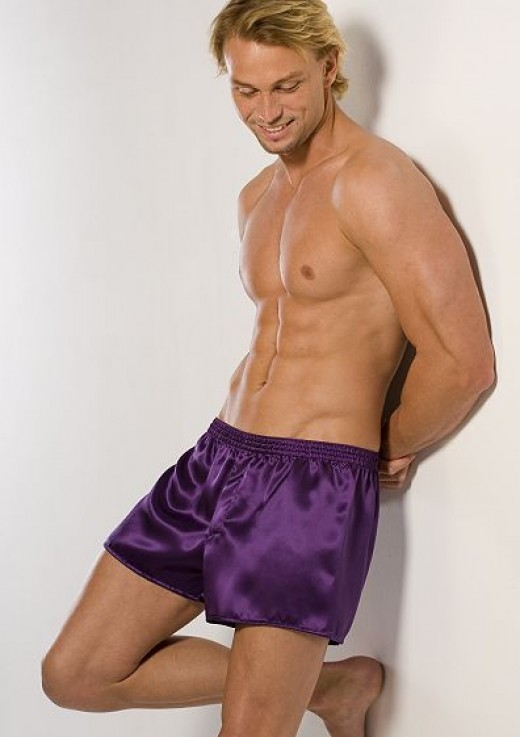 Mens boxer shorts look great on men, don't they ladies?