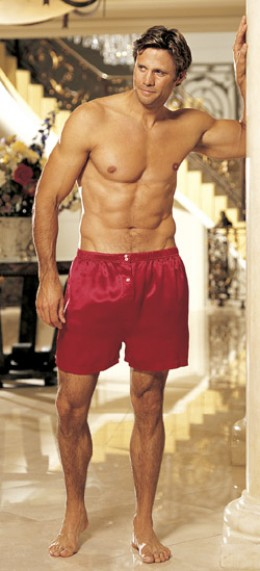 Ladies... ladies... over here! This is a Hub on mens boxer shorts, not the men!