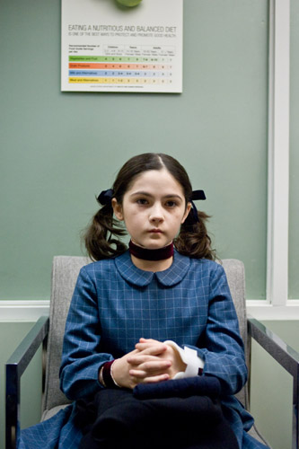 Isabelle Fuhrman supplies a frightfully believable performance for her role as a villain.