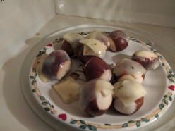 Soft Pretzel Bites with Cheese