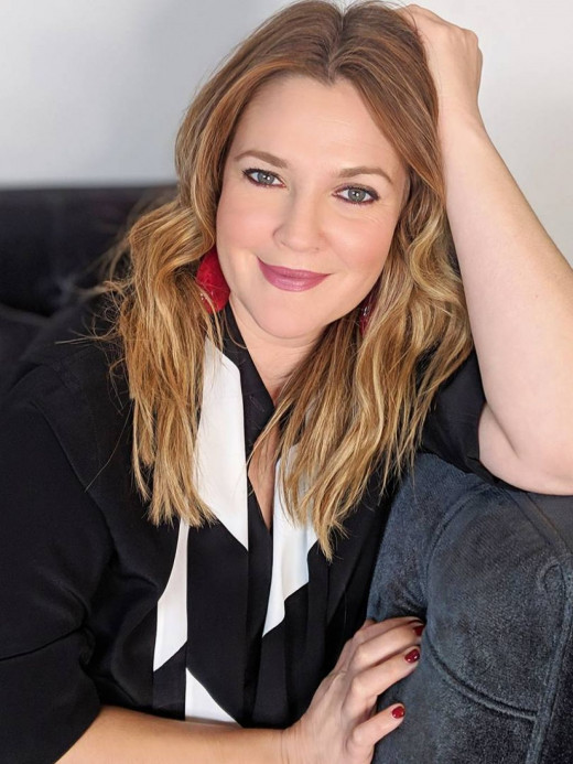 Drew Barrymore continued her family's acting legacy.