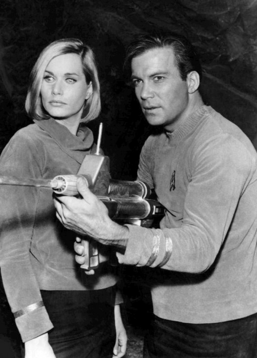 William Shatner, Sally Kellerman, and a laser rifle.