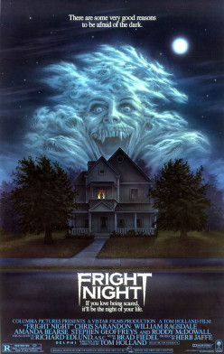 Fright Night a Horror Movie Cult Classic.