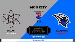 PFSL S2 Week 3 Preview: Dallas Isotopes @ Baltimore Bandits