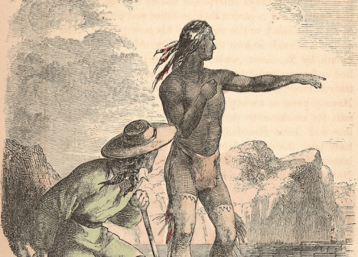 Squanto helped guide and teach the Plymouth (Plimouth) settlers some of which were the Pilgrims