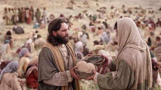 Jesus Fed Multitude