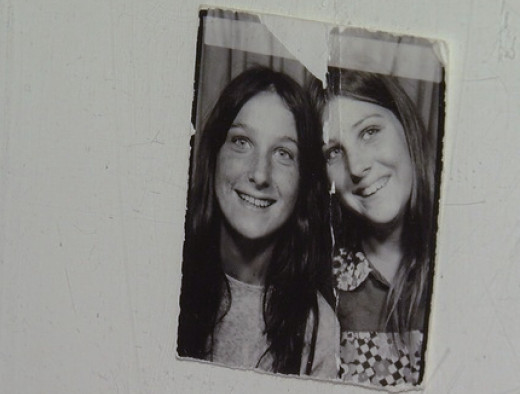 Jackie (left) and Cindy (right) who vanished from their Mesa neighborhood over 44 years ago.
