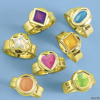 5 gold rings