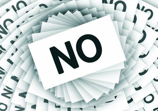 Say 'no' to things that you don't want to do because of someone else