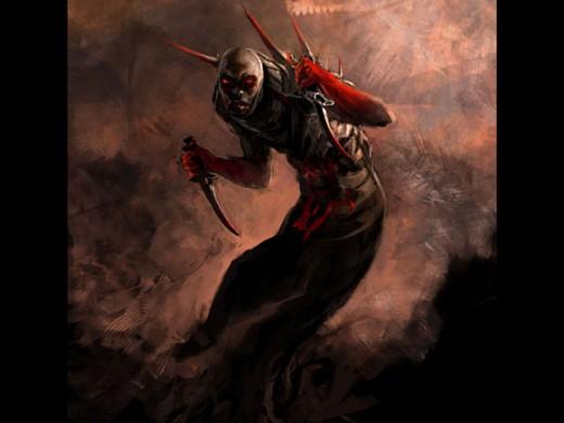 A Daemon, more menacing...