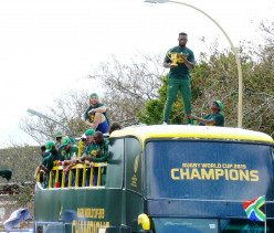 Rugby World Cup Celebrations in South Africa