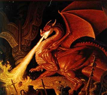 A Fire-breathing Dragon...