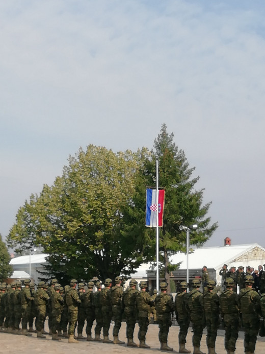 4th Croatian Army contingent deployment