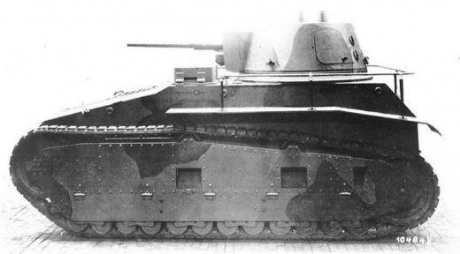 The Leichttraktor, one of the tanks the Germans tested in Russia in the quest to expand their own armored forces.