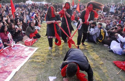 cultural festival at Student Solidarity March