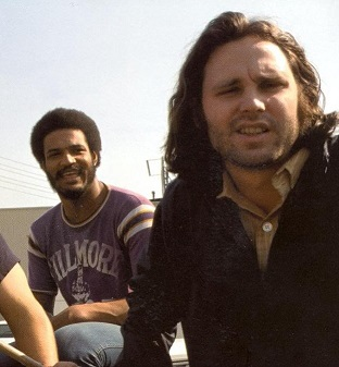 Tony Funches with Jim Morrison
